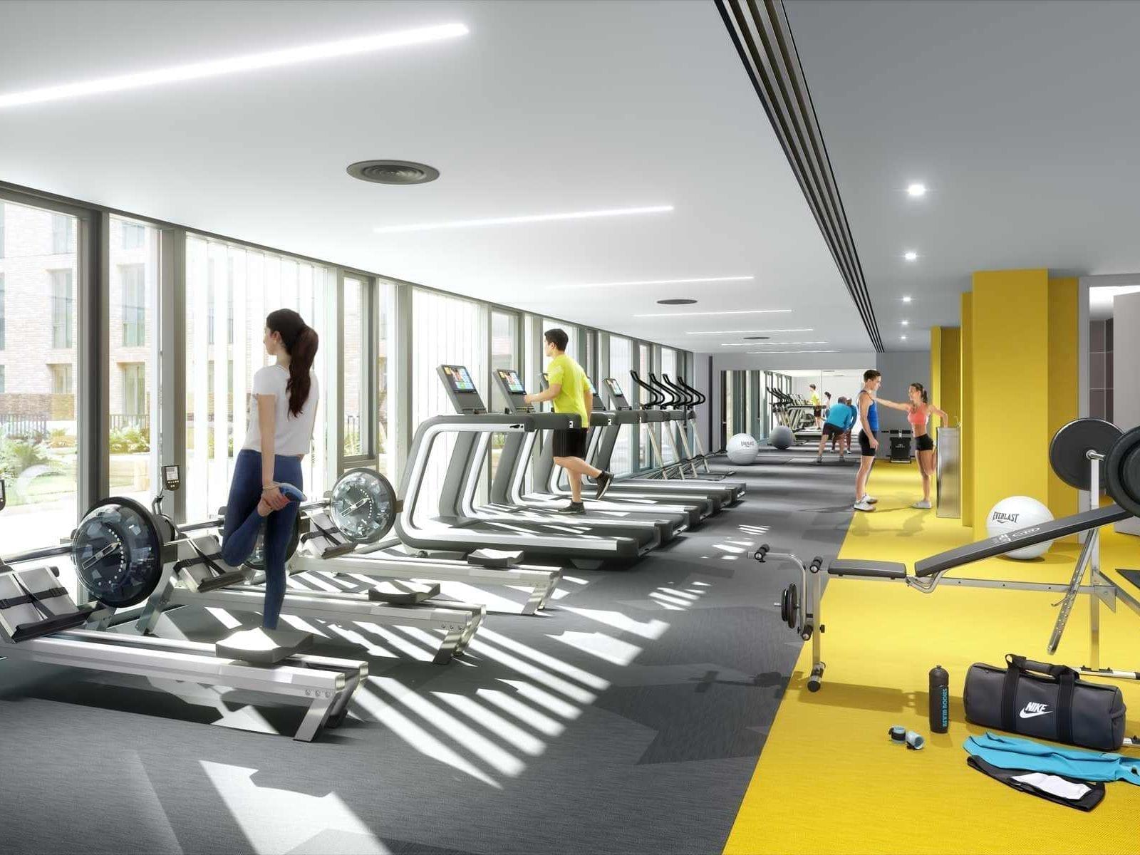 Gym & yoga studios