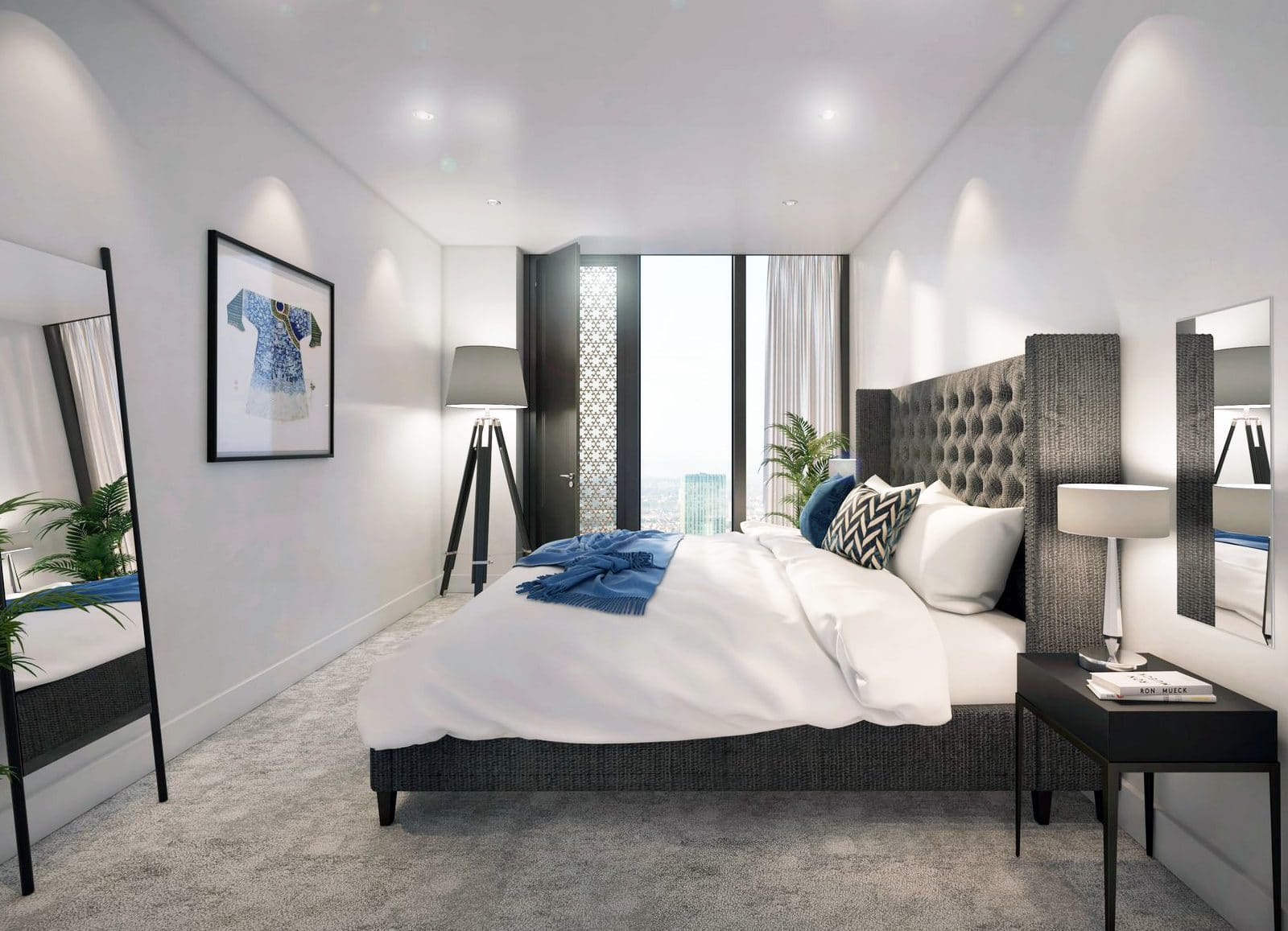 Spacious one & two bedrooms