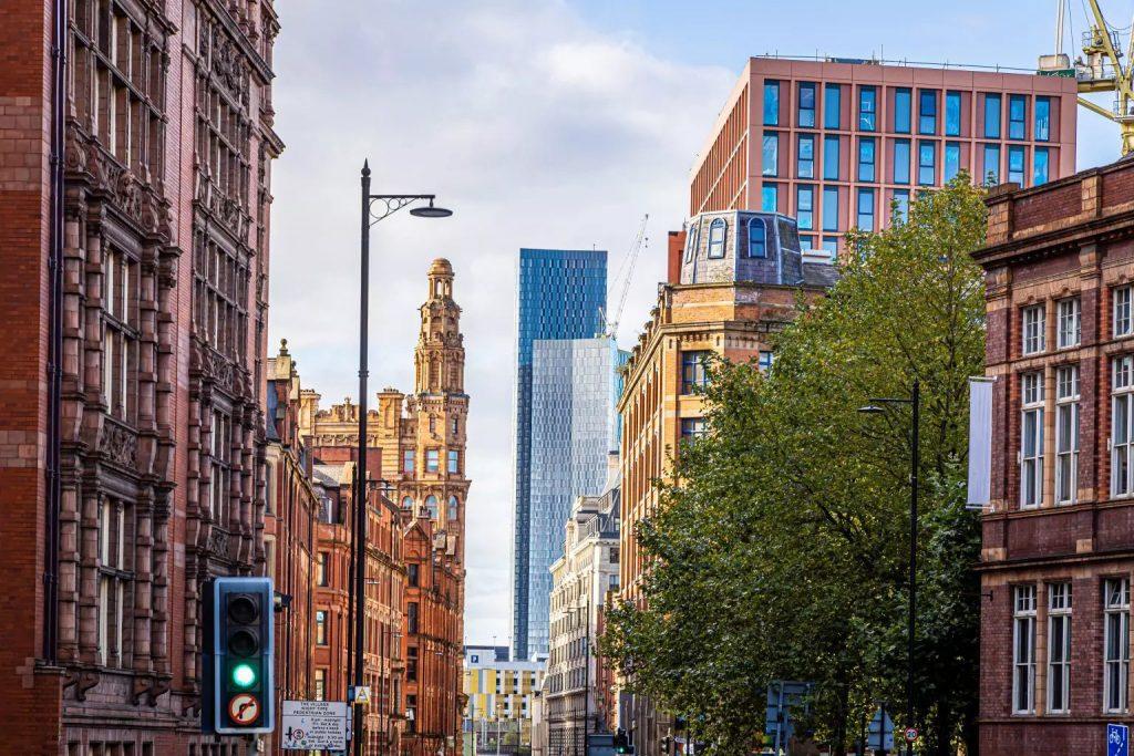 manchester city centre street level